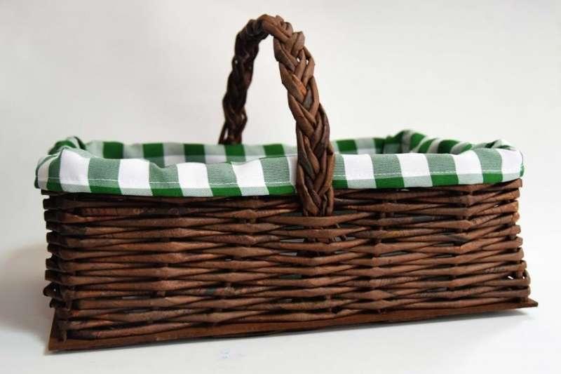 Canasto picnic en papel