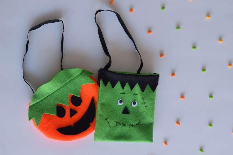 Bolsa Halloween paño lency