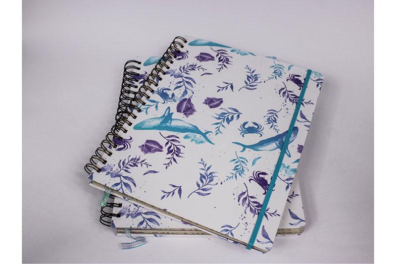 Cuaderno argollado grande