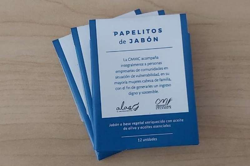 Kit de  papelitos de jabón