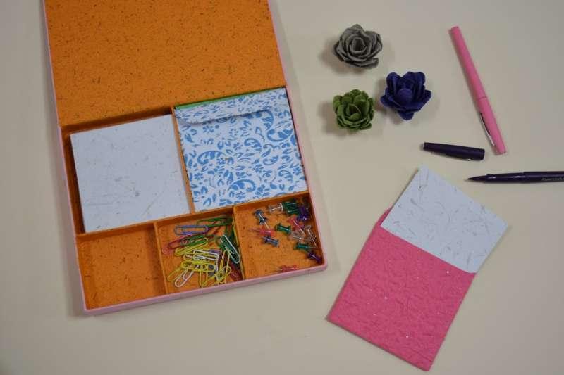 Kit de notas en papel buchón